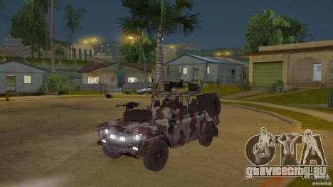 Land Rover WMIK для GTA San Andreas