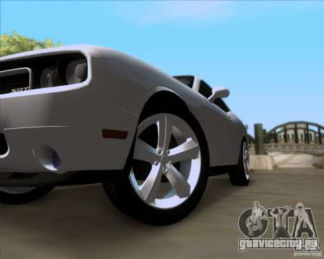 Dodge Challenger SRT8 2009 для GTA San Andreas вид сбоку