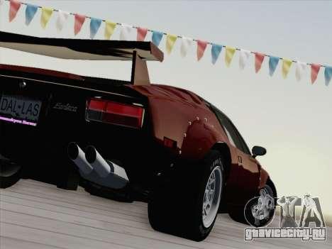 De Tomaso Pantera GT4 для GTA San Andreas вид сверху
