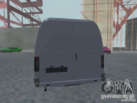 ГАЗель 2705 Грузопасажирская для GTA San Andreas вид справа