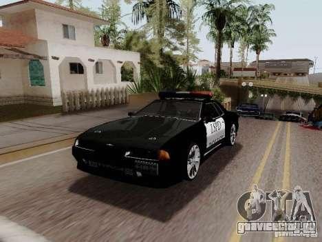 Elegy Police LS для GTA San Andreas