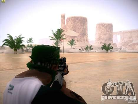 M4 Close Quarters Combat для GTA San Andreas третий скриншот
