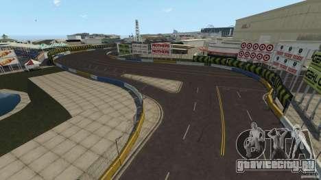 Long Beach Circuit [Beta] для GTA 4 четвёртый скриншот