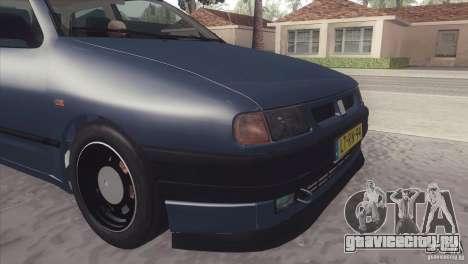 Seat Ibiza GLXI 1.4 1994 для GTA San Andreas вид сзади слева