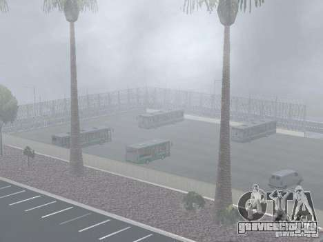 4-ый автобусный парк v1.0 для GTA San Andreas седьмой скриншот