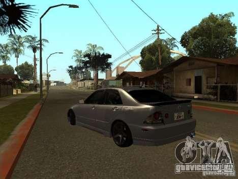 Lexus IS300 JDM для GTA San Andreas вид слева