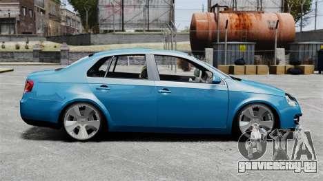 Volkswagen Jetta 2010 для GTA 4 вид слева