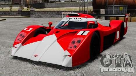 Toyota GT-One TS020 для GTA 4