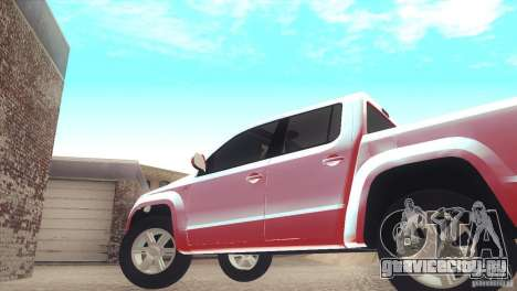 Volkswagen Amarok TDI Trendline 2013 для GTA San Andreas вид справа
