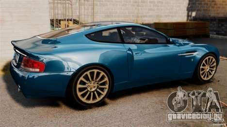 Aston Martin Vanquish 2001 для GTA 4 вид слева