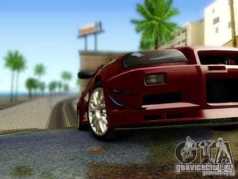 Nissan R34 Skyline GT-R для GTA San Andreas вид справа