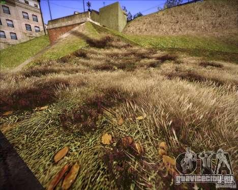 New grass для GTA San Andreas четвёртый скриншот