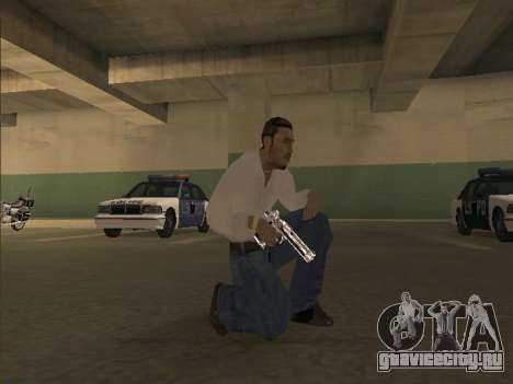 Chrome Weapons Pack для GTA San Andreas
