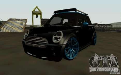 Mini Cooper S Tuned для GTA San Andreas