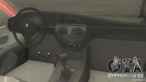Renault Megane 2000 для GTA San Andreas вид сзади слева
