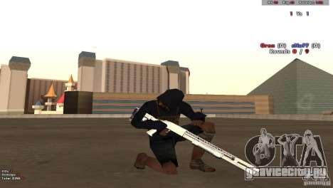 New Chrome Guns v1.0 для GTA San Andreas второй скриншот