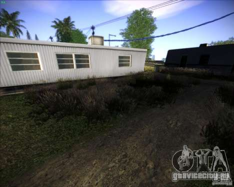 New grass для GTA San Andreas пятый скриншот