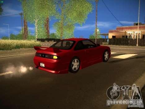Nissan Silvia S14 Ks Sporty 1994 для GTA San Andreas вид изнутри