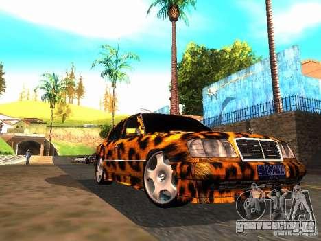 Mercedes-Benz E500 Leopard для GTA San Andreas