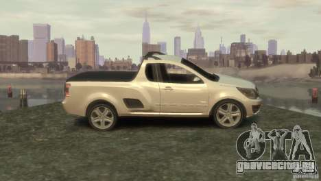 Chevrolet Montana Sport 2011 для GTA 4 вид слева