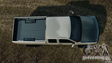Chevrolet Silverado 2500 Lifted Edition 2000 для GTA 4 вид справа