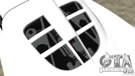 Hennessey Venom GT Spyder для GTA Vice City вид сзади слева