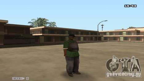 Skin Pack Groove Street для GTA San Andreas пятый скриншот