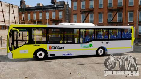 Busscar Urbanuss Pluss 2009 Le VIP Itaim Paulist для GTA 4 вид слева