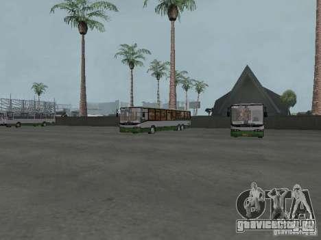 4-ый автобусный парк v1.0 для GTA San Andreas четвёртый скриншот
