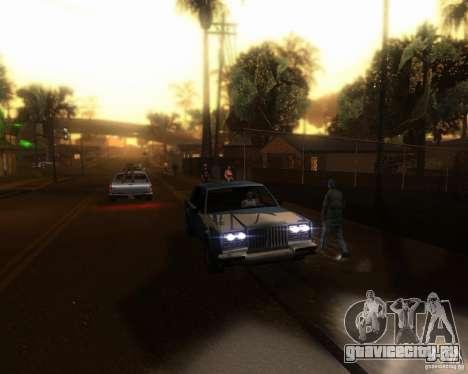 ENBseries для средних и мощных ПК для GTA San Andreas пятый скриншот