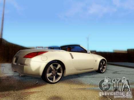 Nissan 350Z Cabrio для GTA San Andreas вид слева