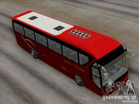 Neoplan Tourliner. Rural Tours 1502 для GTA San Andreas вид снизу