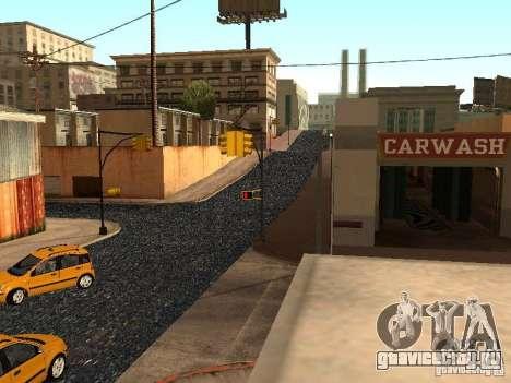 Новый Grove Street для GTA San Andreas девятый скриншот