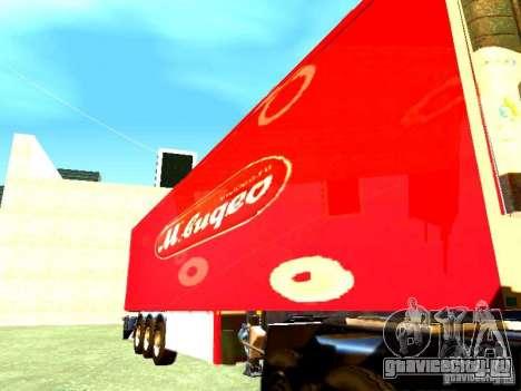 Прицеп М.Видео для GTA San Andreas вид сзади слева
