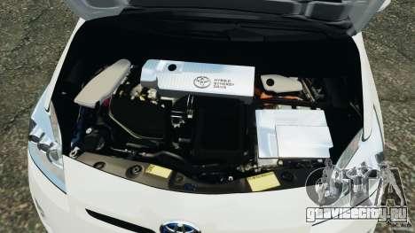 Toyota Prius NY Airport Service для GTA 4 вид сверху