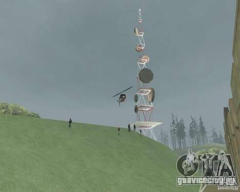 Vinewood - запретная зона для GTA San Andreas четвёртый скриншот