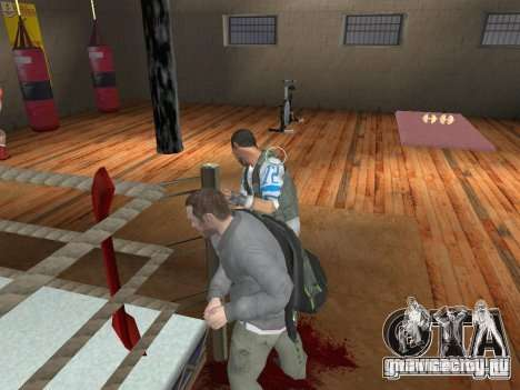 Система драк из GTA IV V 2.0 для GTA San Andreas