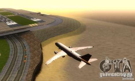 Airbus A319 British Airways Olympic Dove для GTA San Andreas вид справа