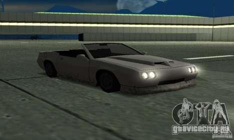 Buffalo Cabrio для GTA San Andreas вид справа
