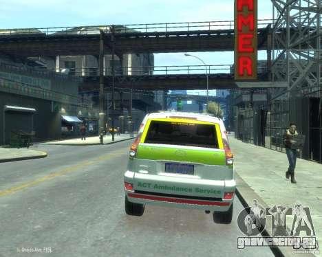 Toyota Land Cruiser Prado Police для GTA 4 вид сзади слева