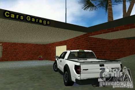 Ford F-150 SVT Raptor для GTA Vice City вид справа