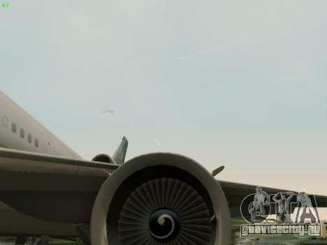 McDonell Douglas DC-10-30 Continental для GTA San Andreas вид сбоку
