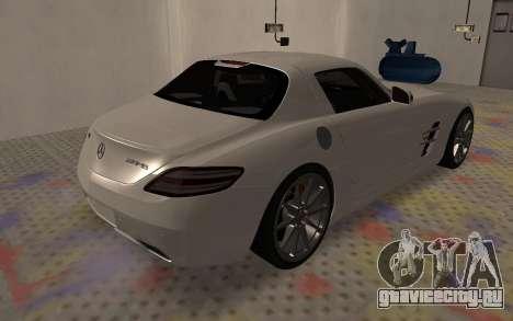 Mercedes-Benz SLS AMG 2010 для GTA San Andreas