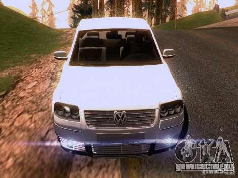 Volkswagen Passat B5 для GTA San Andreas колёса