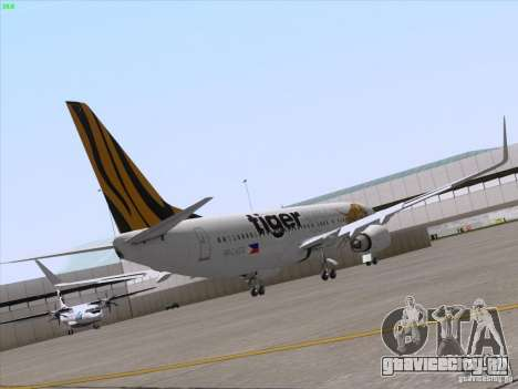 Boeing 737-800 Tiger Airways для GTA San Andreas вид справа