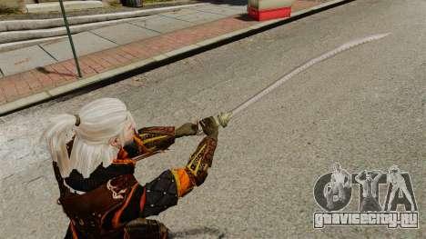 Меч Геральта v2 для GTA 4