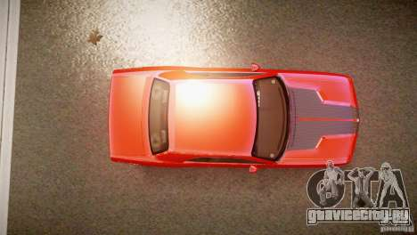 Dodge Challenger RT 2006 для GTA 4 вид справа