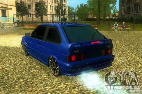 ВАЗ 2113 LT для GTA San Andreas вид слева