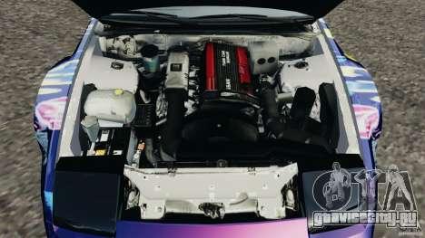 Nissan 240SX Kawabata Drift для GTA 4 вид сбоку