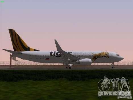 Boeing 737-800 Tiger Airways для GTA San Andreas двигатель